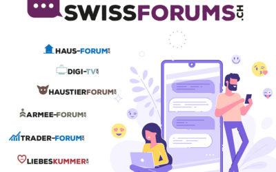Neue Logo-Famile für Swissforums